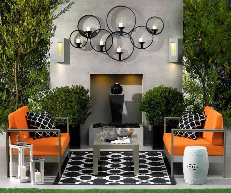 Wall Decor for Small Spaces Inspirational 15 Fabulous Small Patio Ideas to Make Most Small Space – Home and Gardening Ideas