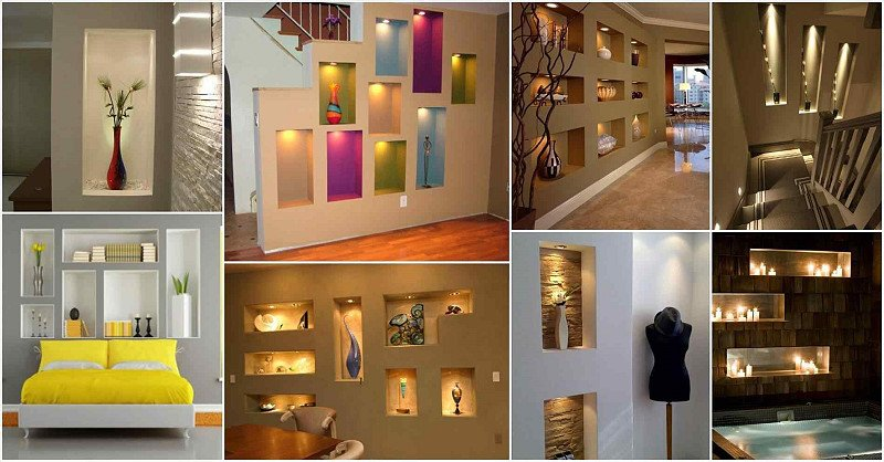 Wall Decor Ideas In Your Living Room Awesome What is Niche Design Tips and Ideas for Niche Design