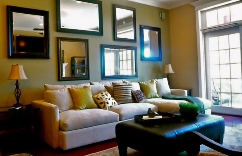 Wall Decor Ideas In Your Living Room Beautiful 5 Ideas Of Modern Living Room Mirrors Interior Design Inspirations