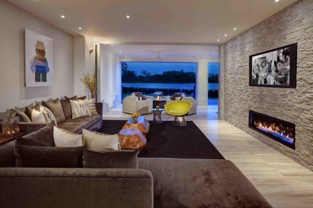Wall Decor Ideas In Your Living Room Inspirational 17 Divine Stone Wall Ideas for Your Living Room Style Motivation