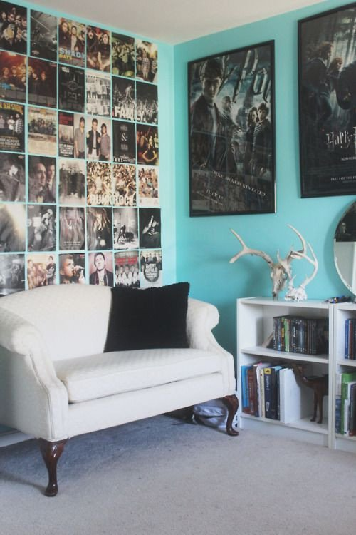 Wall Decor Ideas In Your Living Room Unique Interiors Tumblr Movie Posters In the Living Room or Movie Den Beautiful Choice
