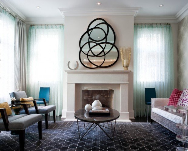 Wall Decor Ideas Living Room Unique 17 Beautiful Living Room Decorating Ideas with Wall Mirrors Style Motivation