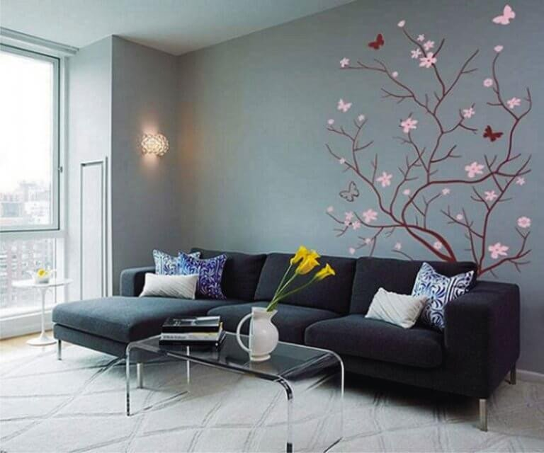 Wall Decor Ideas Living Room Unique 45 Living Room Wall Decor Ideas