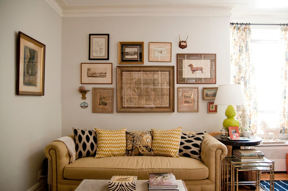 Wall Decor Living Room Ideas Awesome Picture Frame Collage Design Ideas Living Room Eclectic with Nesting Table Beige Throw Pillow