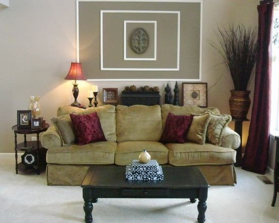 Wall Decor Living Room Ideas Lovely 1000 Images About Burgundy Family Room Ideas On Pinterest