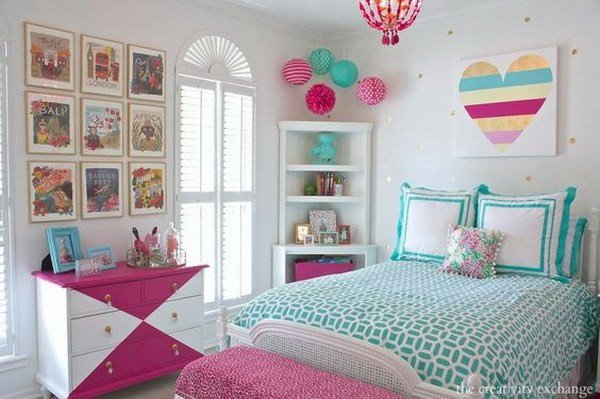 Wall Decor Teenage Girl Bedroom Elegant 40 Beautiful Teenage Girls Bedroom Designs for Creative Juice