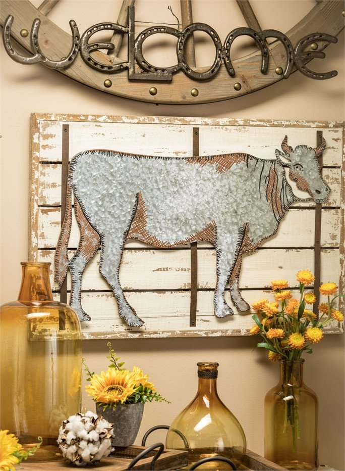 Wall Pictures for Home Decor Lovely wholesale Cow Wall Decor Home Decor Green Wall Prints Plaques Art