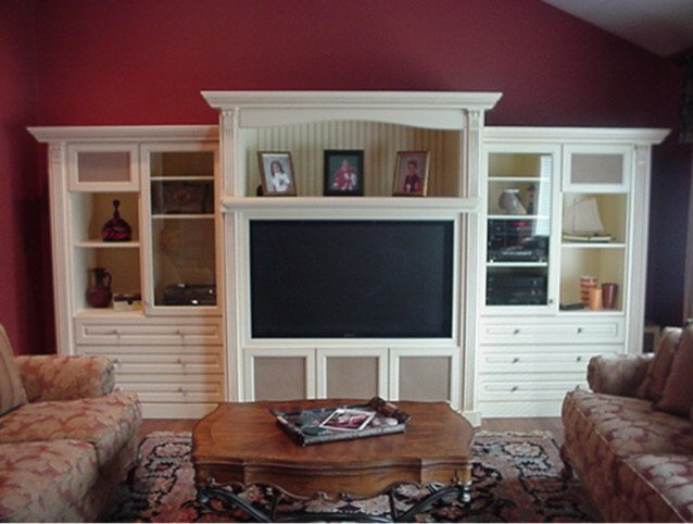 Wall Units Traditional Living Room Elegant Custom Wall Units Traditional Family Room New York