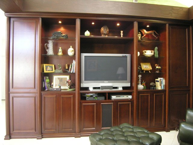 Wall Units Traditional Living Room New Wall Units