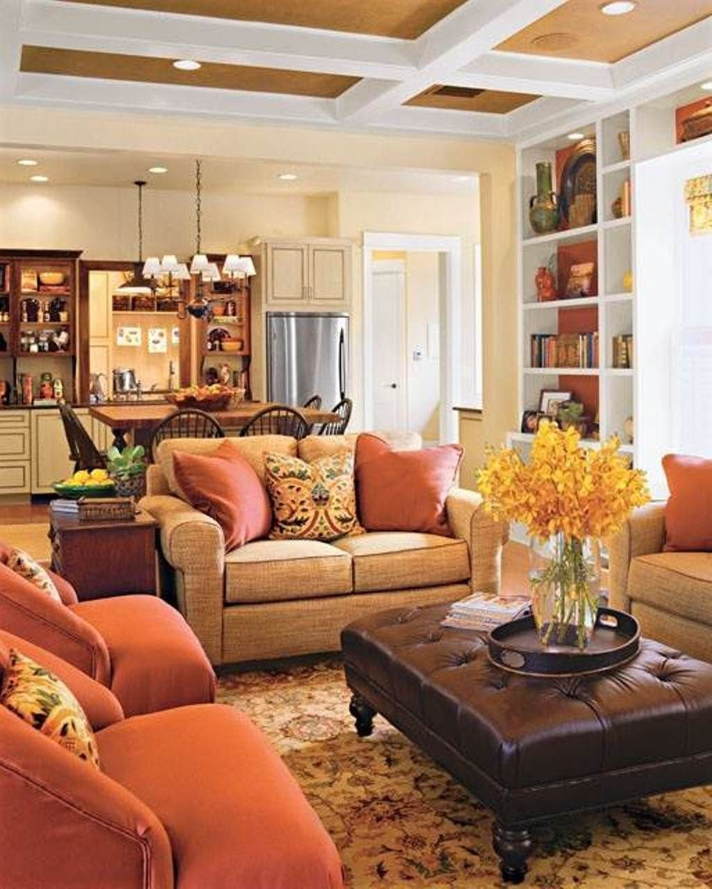 Warm Colors for Living Room Beautiful Warm Family Room Colors Good Family Room Colors for the Walls – Better Home and Garden