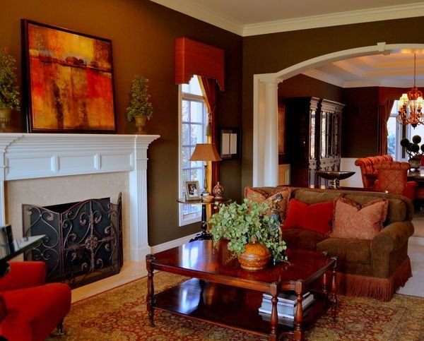 Warm Colors for Living Room Elegant Warm Living Room Love the Colors Home