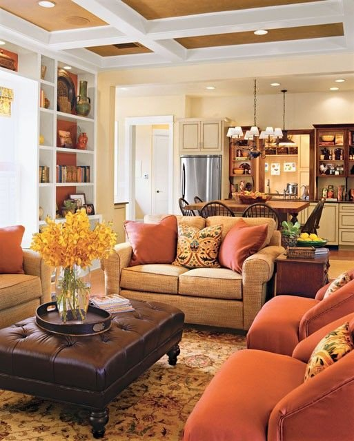 Warm Colors for Living Room Inspirational Warm Living Rooms and Colors On Pinterest