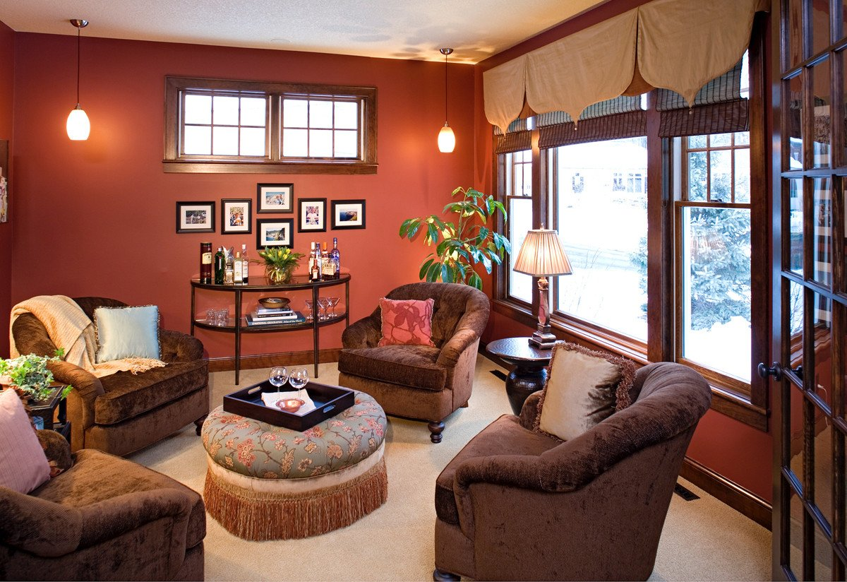 Warm Colors for Living Room New Warm Color Scheme