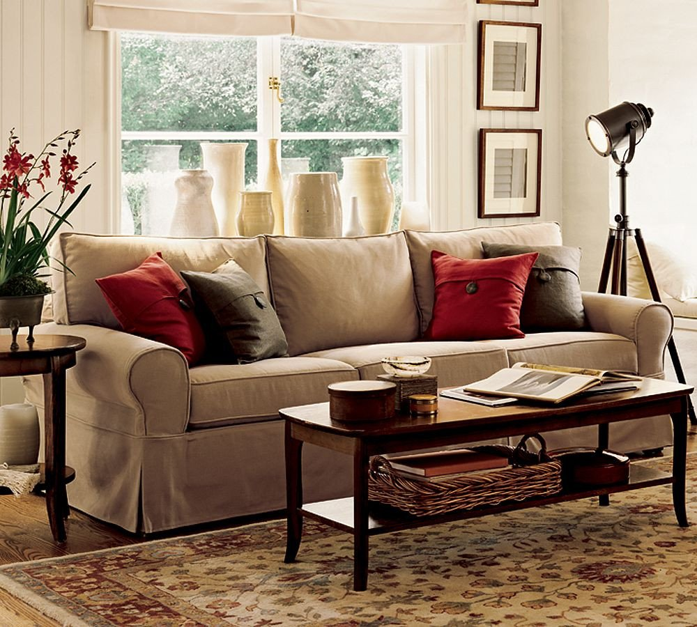 Warm Comfortable Living Room Beautiful fortable Living Room Couches and sofa