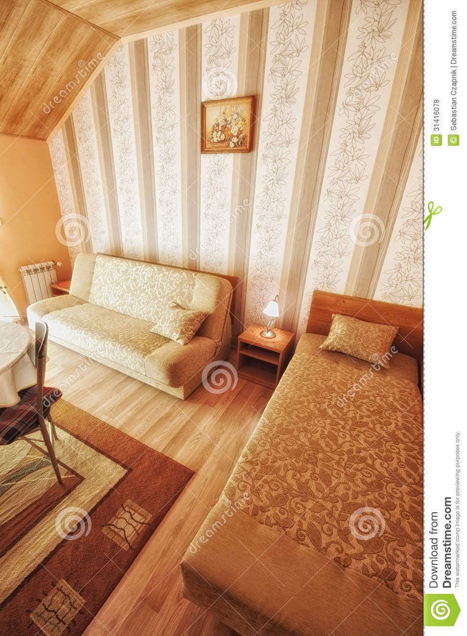Warm Comfortable Living Room Lovely Warm fortable Living Room Royalty Free Stock S Image