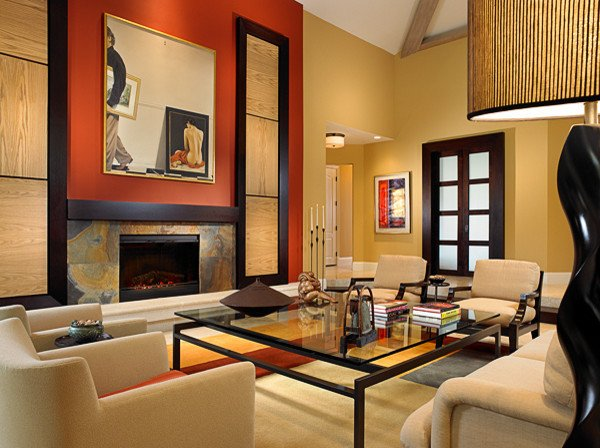 Warm Comfortable Living Room Luxury A Warm fortable Feel with An asian Influence asian oriental Living Room Ideas Cbrn
