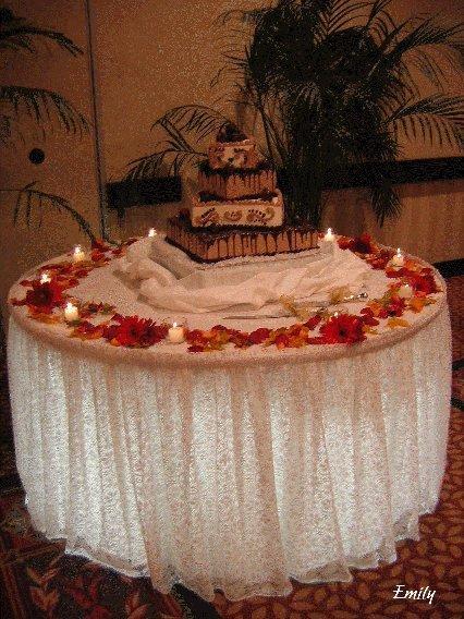 Wedding Cake Table Decor Ideas Elegant Five Best Wedding Cake Decoration Ideas