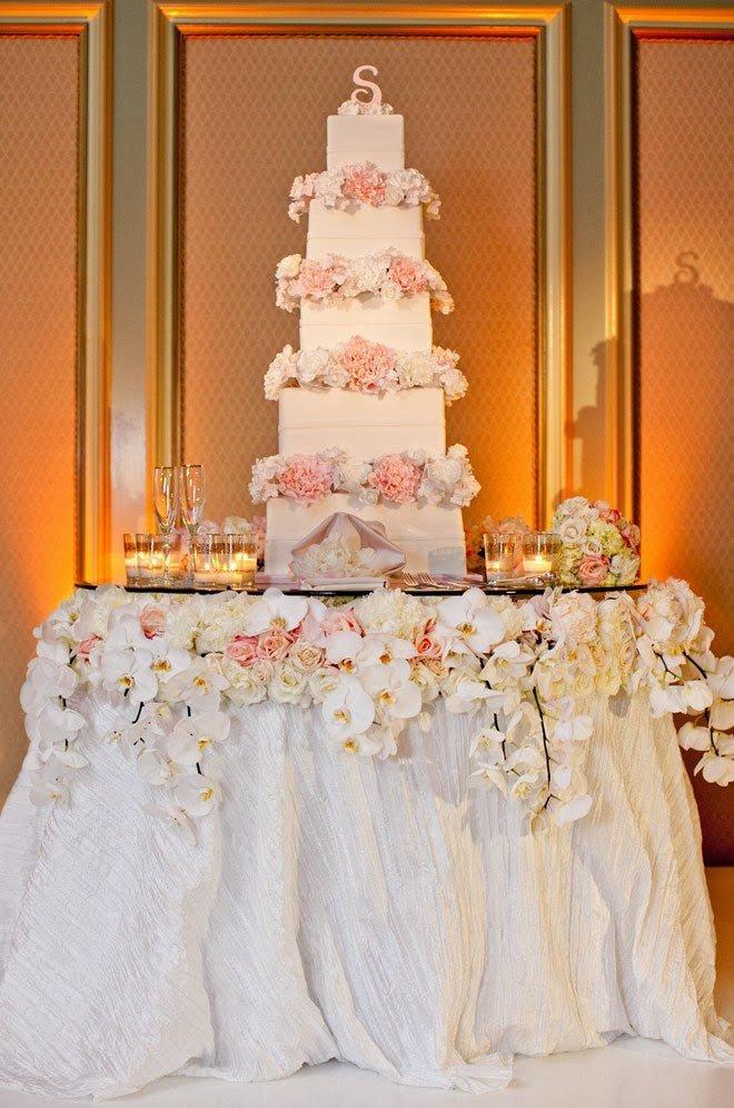 Wedding Cake Table Decor Ideas Fresh Fabulous Wedding Cake Table Ideas Using Flowers Belle the Magazine