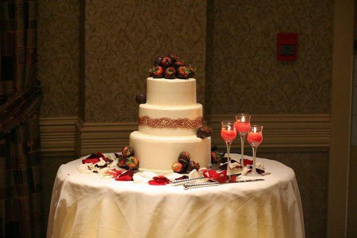 Wedding Cake Table Decor Ideas Inspirational 37 Creative Wedding Cake Table Decorations
