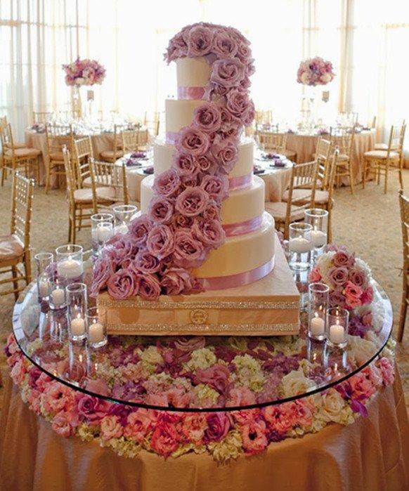 Wedding Cake Table Decor Ideas Lovely Stylish Wedding Cake Table Decorations