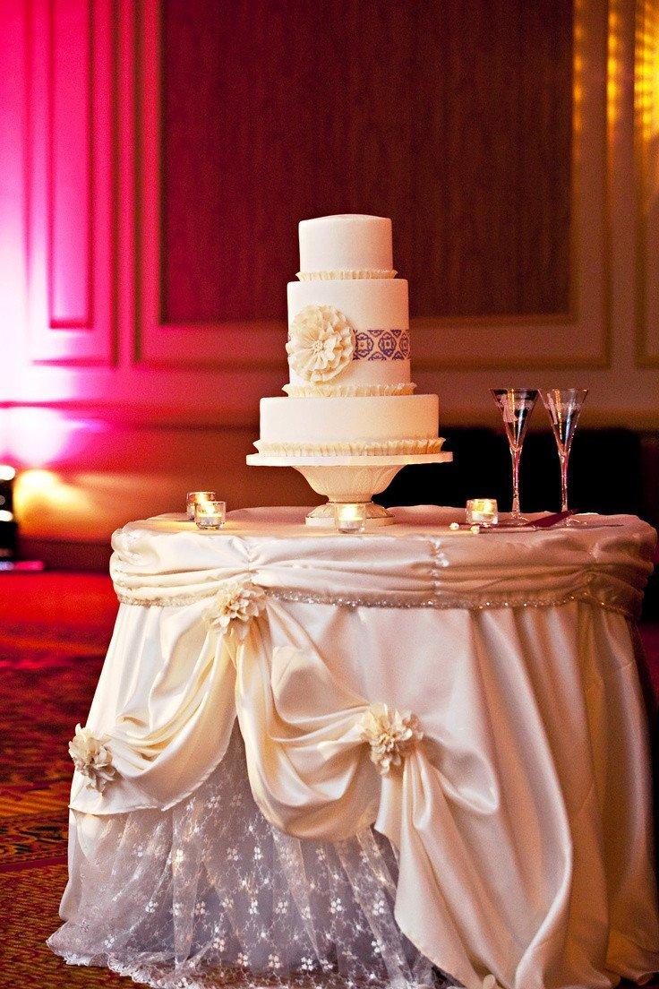 Wedding Cake Table Decor Ideas Lovely Wedding Cake Table Décor Ideas