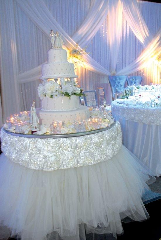 Wedding Cake Table Decor Ideas Luxury Wedding Cake Table Décor Ideas