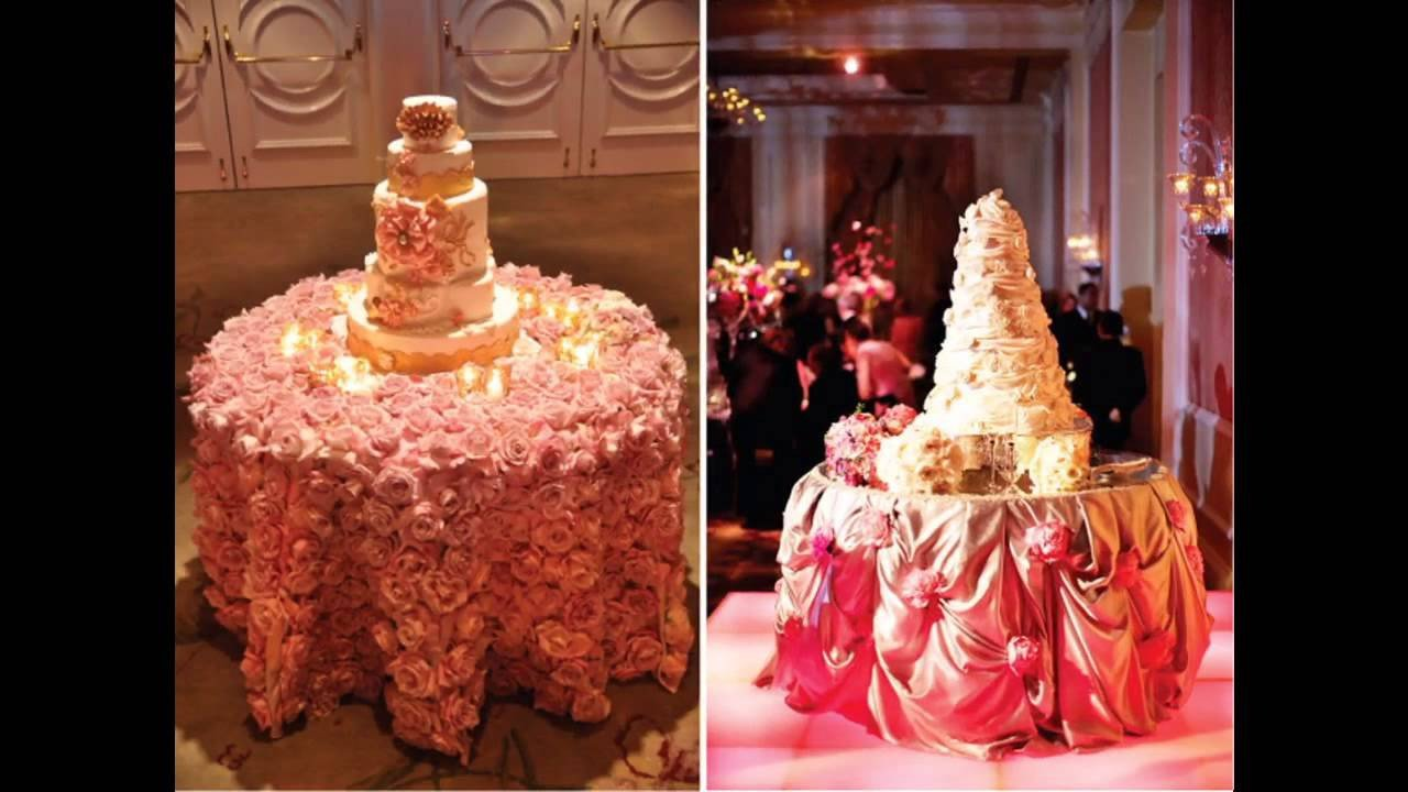 Wedding Cake Table Decor Ideas New Easy Wedding Cake Table Decorations