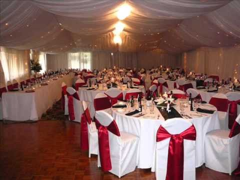 Wedding Decor Red and White Beautiful Red and White Wedding Decoration Ideas