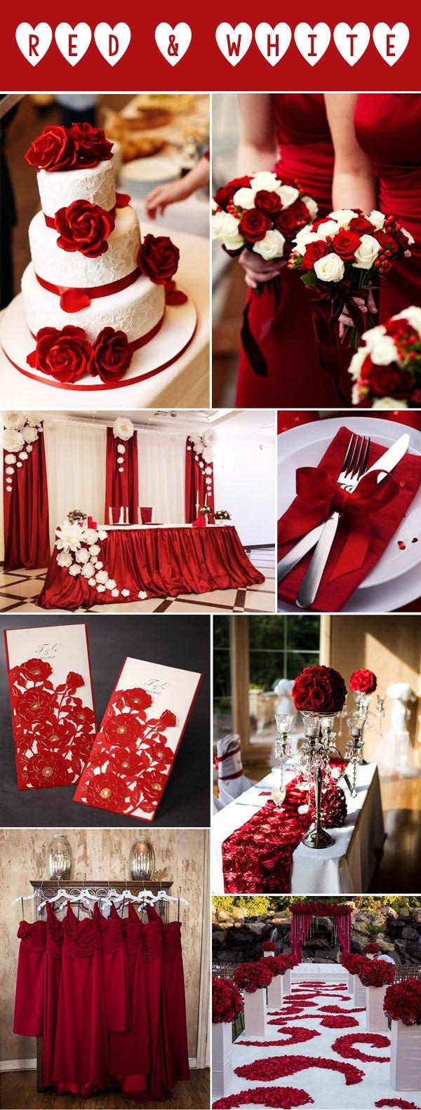 Wedding Decor Red and White Elegant 40 Inspirational Classic Red and White Wedding Ideas – Elegantweddinginvites Blog