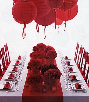 Estylo Jewelry What Color is Your Wedding Red Palette