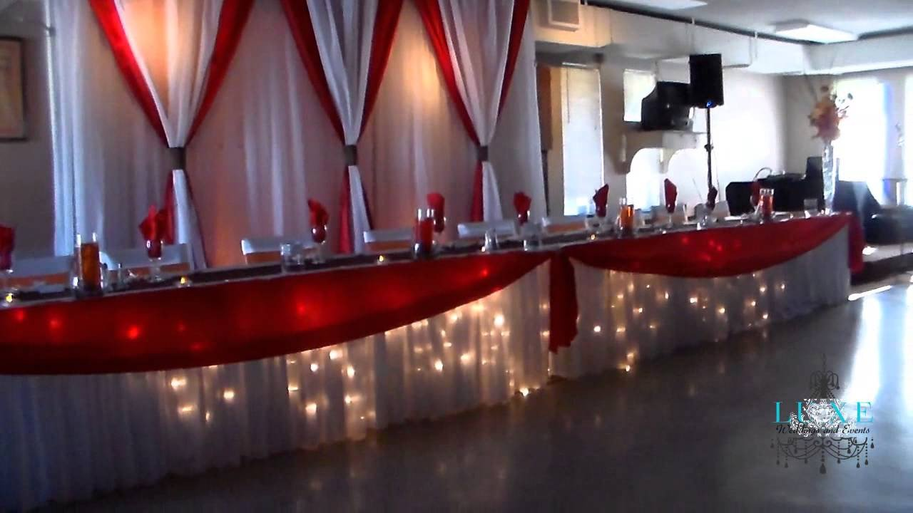 Wedding Decor Red and White Inspirational Beautiful orange White Brown and Red Wedding Decor by Luxe Weddings and events