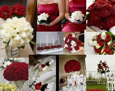Wedding Decor Red and White New Paolo and Lesley Wedding