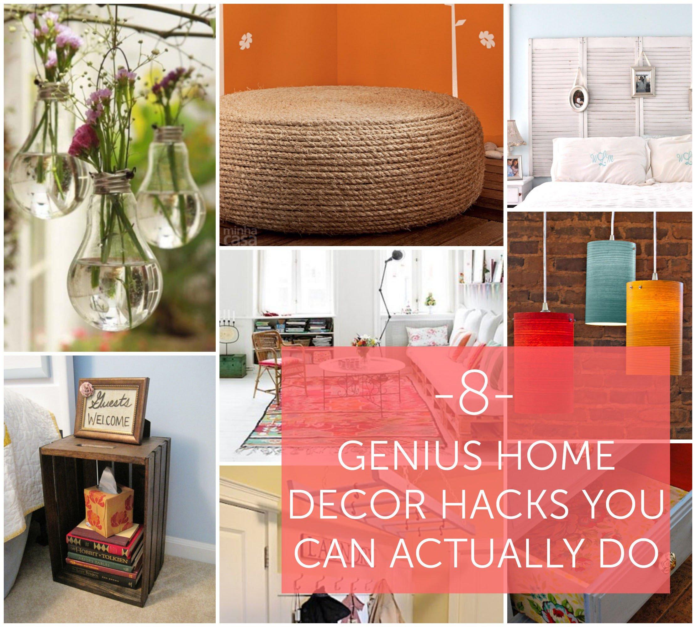 Where to Buy Home Decor New 8 Genius Home Decor Hacks You Can Actually Do