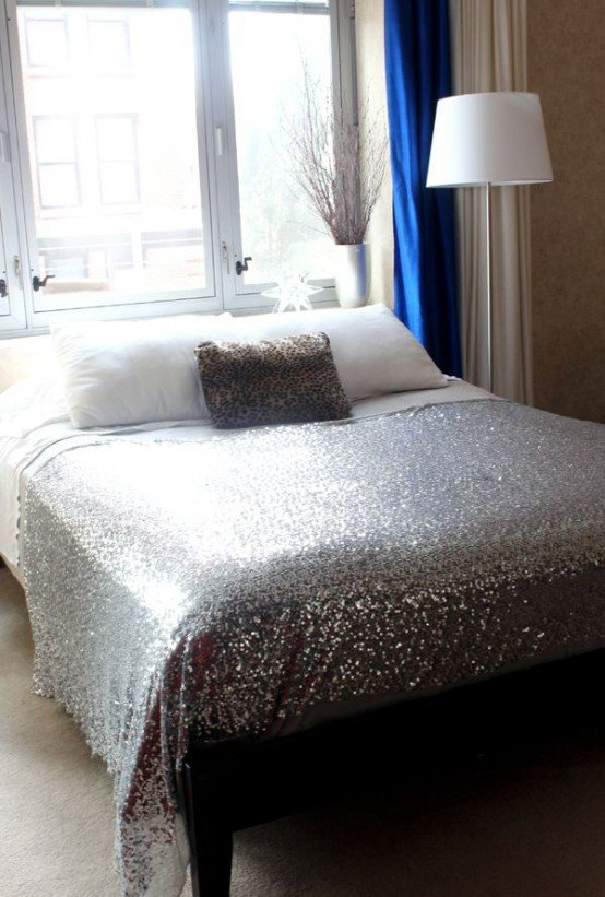 Where to Buy Home Decor New Adding Glam touches 31 Sequin Home Decor Ideas Digsdigs
