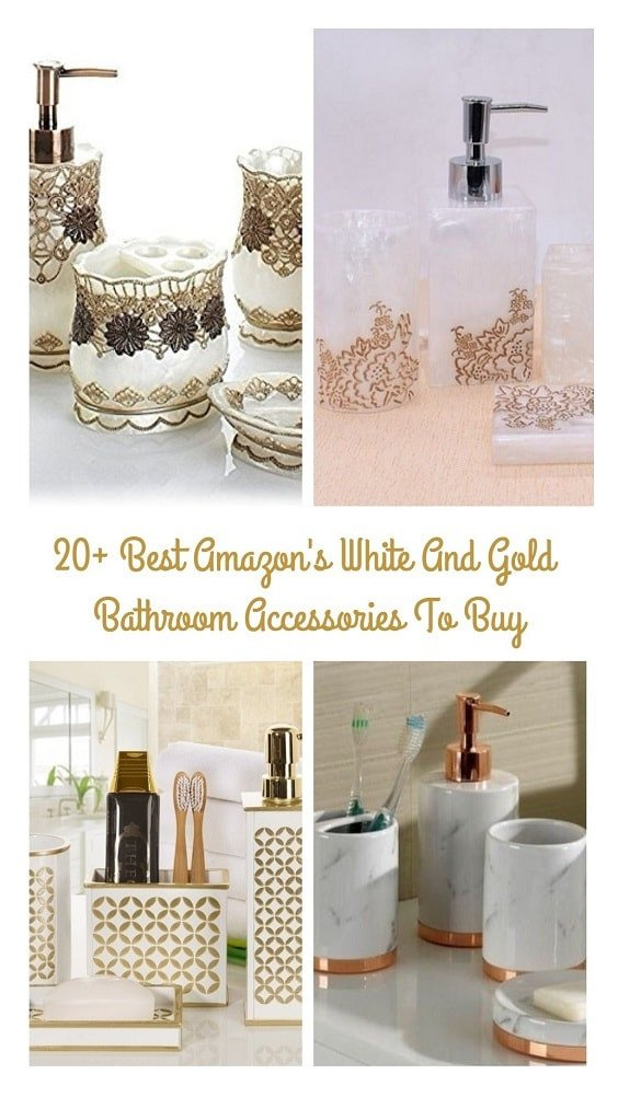 White and Gold Bathroom Decor Awesome 20 Best Amazon S White and Gold Bathroom Accessories to Buy