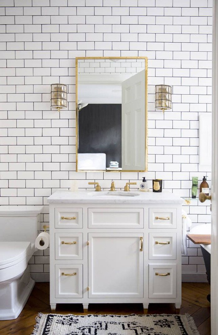 White and Gold Bathroom Decor Elegant Dreaming Of A Bathroom Renovation