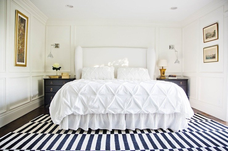 White and Gold Bedroom Decor Lovely White Upholstered Headboard Contemporary Bedroom Benjamin Moore White Dove White & Gold