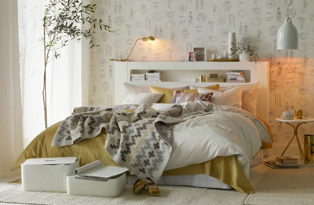 White and Gold Bedroom Decor Luxury Smart and Elegant Bedroom Decorated with White and Gold Decoholic