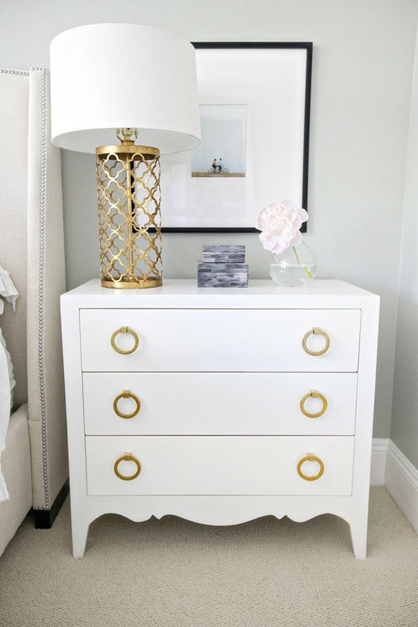 White and Gold Bedroom Decor Unique Hot Summer Color Inspiration