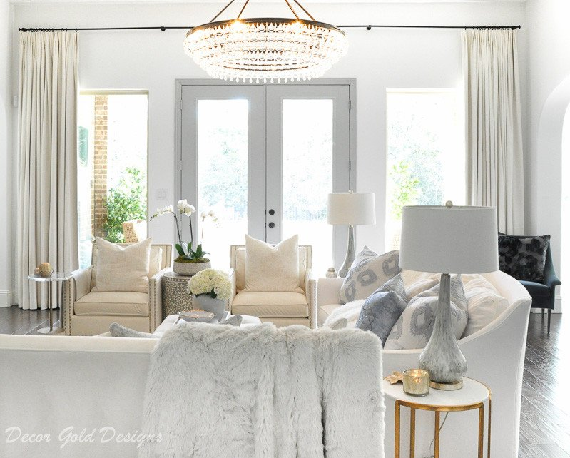 Living Room Decor Gold Designs
