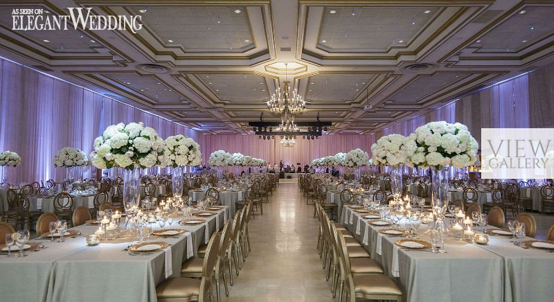 White and Gold Wedding Decor Awesome Classic Wedding with White & Gold Decor