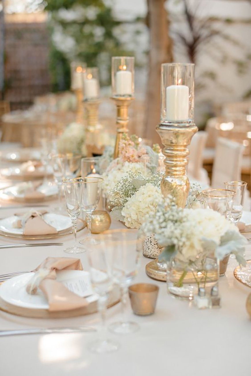 White and Gold Wedding Decor Awesome Gold Wedding Decorations Wedding Ideas by Colour