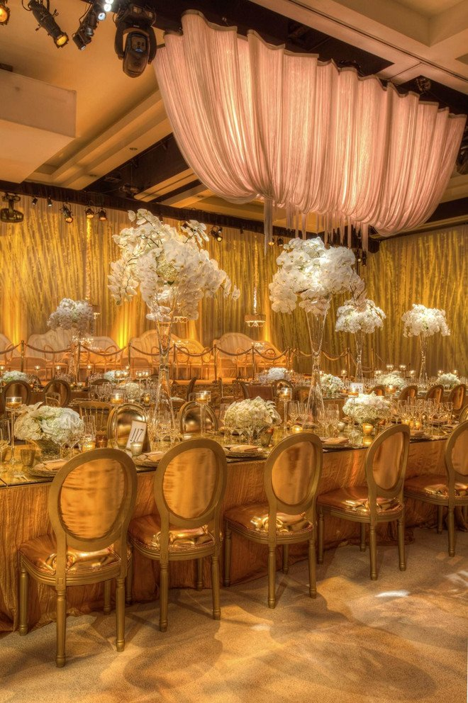 White and Gold Wedding Decor Beautiful Inspiration Of the Day B Lovely events
