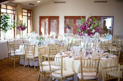 White and Gold Wedding Decor Elegant Scottsdale Wedding Troon Country Club