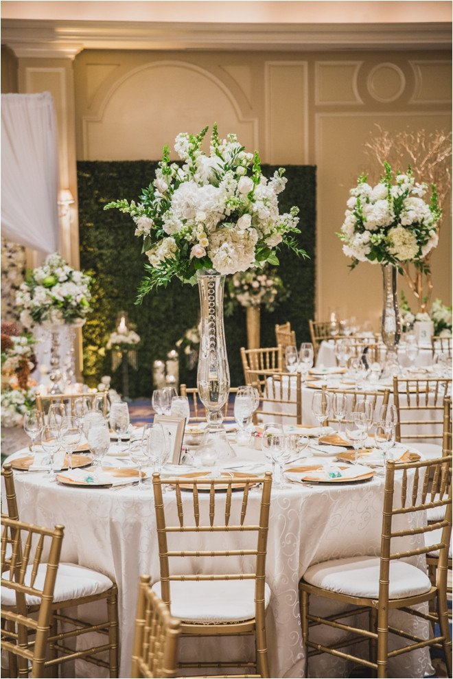 White Gold Champagne & Green Wedding at The Houstonian Hotel Houston Wedding Blog