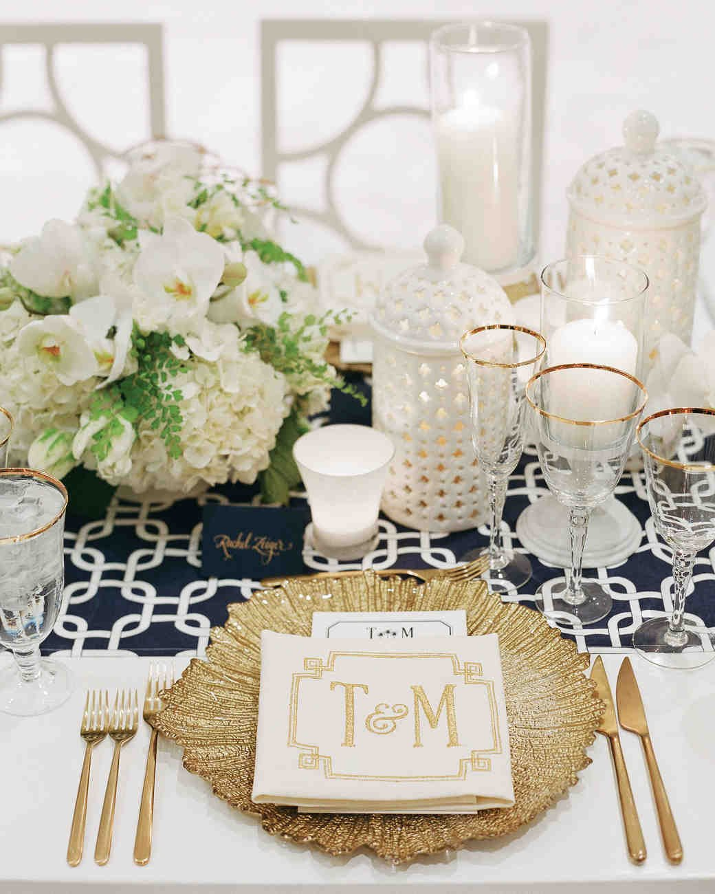 White and Gold Wedding Decor Unique 36 Gold Wedding Ideas