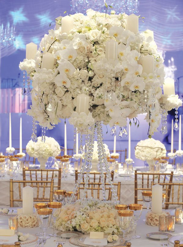 White and Gold Wedding Decor Unique White Wedding Décor Ideas Bridalguide