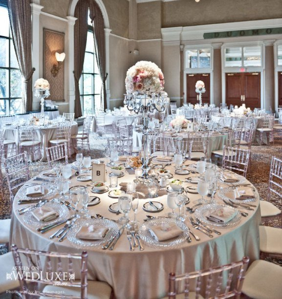 White and Silver Wedding Decor Fresh White and Silver Wedding theme Weddings Romantique