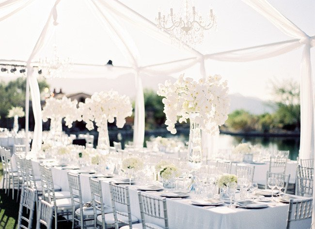 White and Silver Wedding Decor Fresh White Out Wedding theme