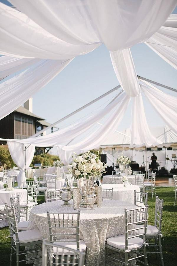 White and Silver Wedding Decor Inspirational 50 Silver Winter Wedding Ideas for Your Big Day